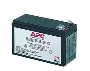 APC APCRBC106 batería de sustitución para UPS, compatible con los modelos BE400-SP / BE400-GR y otros