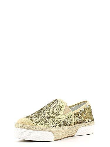 Pantofola con paillettes Cafè Noir art. EM910 Platino 39 NubeajWlrL