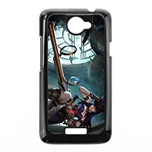 League of Legends Caitlyn HTC One X Cell Phone Case Black Delicate gift AVS_574543
