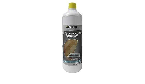 Maurer 5464272 Detergente Tarima Flotante y Parquet 1litro: Amazon ...