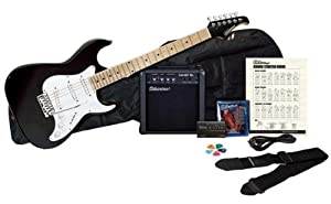 Silvertone Citation Electric Guitar and Amp Package by SGLE9