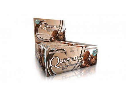 Quest Nutrition Protein Bars - 60 g x 12 Bars (Double Chocolate Chunk)