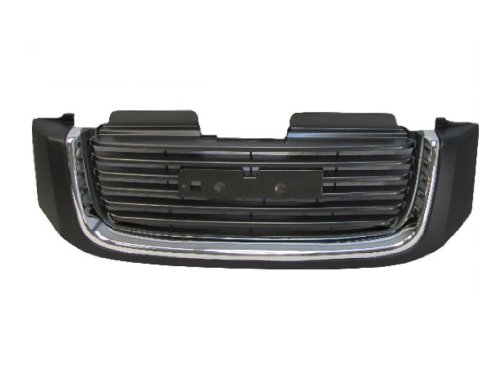 GRILLE BLACK SLE MODELS W/CHROME ()