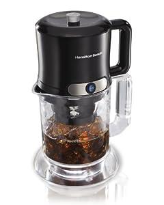 Hamilton Beach 40912R Iced Coffee/Tea Maker : Great for ice tea addiction.