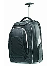 Samsonite Tectonic Wheeled Backpack 17-Inch, Black