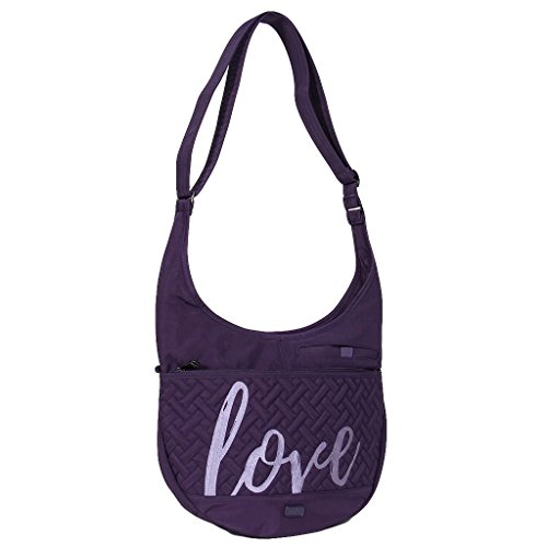 Lug Clothing, Shoes & Jewelry Shoulder Bag, Concord Purple, One Size