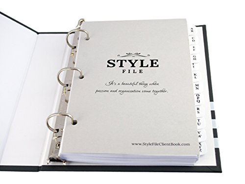 Style File Client Profile Cards - 50 Pack (Notes Only Cards) Photo #2