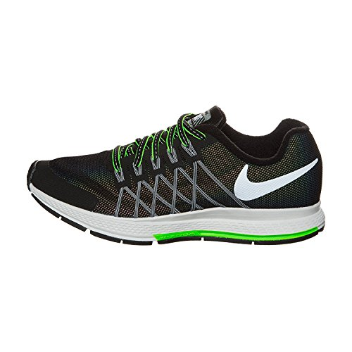 Nike Zoom Pegasus 32 Flash Gs Running Scarpe Da Ginnastica 807381 Scarpe Da Ginnastica Nere / Argento Riflettente-platino Puro