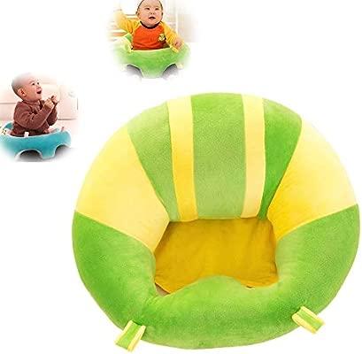 1 sillón de apoyo suave para bebé, para aprender a sentarse, mantener la postura sentada cómodo durante 0 – 2 años rosa rosa Talla:40 x 40 cm