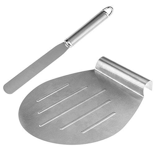 Anpro Kuchen Retter, Torten Heber und Streichpalette Konditorenmesser, Kuchen Heber von 31.5 x 26cm, Streichmesser von 29.7x2.4cm