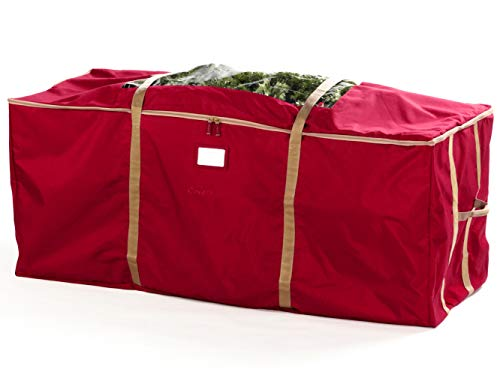 Covermates - Holiday Tree Storage Bag - Fits 9 to 11 Foot Tree - 3 Year Warranty - Red (Best Way To Store Artificial Christmas Tree)