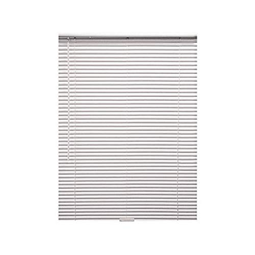 Designer's Touch 307581086 White Cordless 1 in. Vinyl Blind 27 in. W x 72 in. L