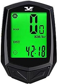 FRIDIROU Bicycle Computer Speedometer Wireless Waterproof Bike with Digital LCD Display Odometer Mountain Bike