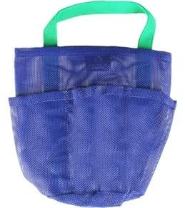 The Original Mesh Shower Bag for Dorm & Gym, Deep Blue, by Saltwater Canvas LLC
