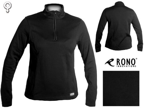 Rono LS Hyd3 Fleece Zip Top SZ Damen/Women Laufpulli