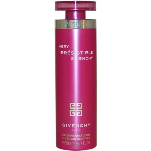Very Irresistible Peony Body Lotion - Very Irresistible Women Sensation Body Veil by Givenchy, 6.7 Ounce