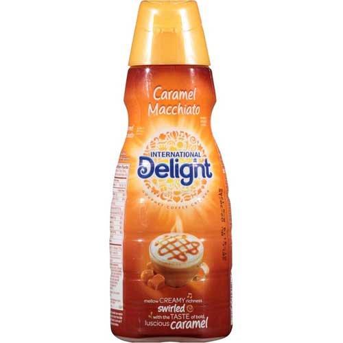 International Delight Caramel Macchiato Coffee Creamer, 32 Fluid Ounce -- 12 per case. by International Delight