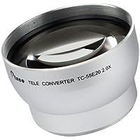 Pixco 55mm 2.0X Tele Conversion Lens Silver Color [Camera]