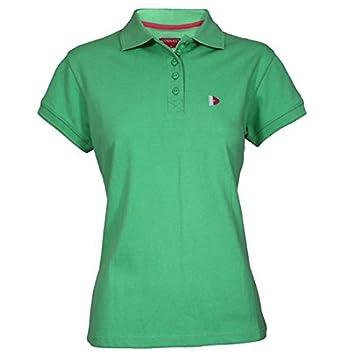 Donnay Basic Pique Polo mujer, verde claro: Amazon.es: Deportes y ...
