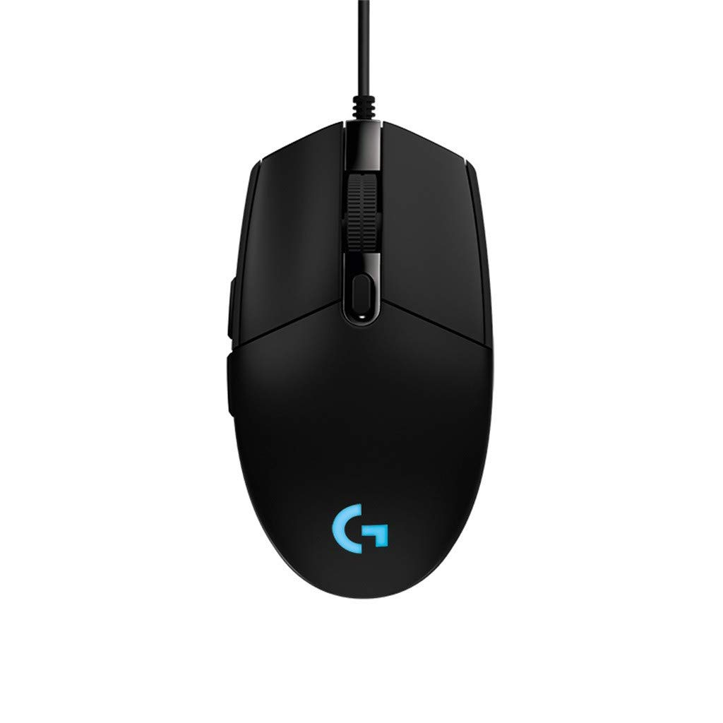 for Laptops Desktops and Tablet Dolloress Logitech G102 USB Wired Gaming RGB Mouse 8001DPI with Unique Slim Silent ClicProgrammable Portable Mice Ergonomic Wireless Gaming Mouse
