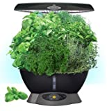 Aerogarden Miracle-Gro Classic 6 with Gourmet Herb Kit and Bonus Seed Starting System Second Tray