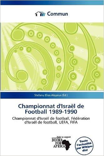 Téléchargement Championnat D'Isra L de Football 1989-1990 pdf ebook
