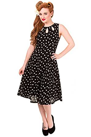 Banned Songbird Vintage Heart Dress at Amazon Women's
