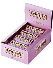 Raw Bite rauwe kost proteïnerepen, verpakking van 12 (12 x 50 g)