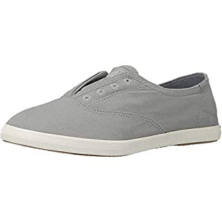 Keds womens Chillax Slip On Sneaker, Drizzle Grey, 9 US