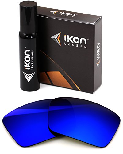Polarized Ikon Replacement Lenses For Costa Del Mar Permit Sunglasses - Deep Blue - Lenses Replacement Costa Sunglasses