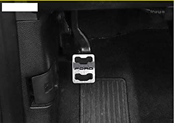 2016-2018 Landparts Automatic Transmission Stainless Steel Gas /& Brake Pedal Kit Rest Step for Ford F150