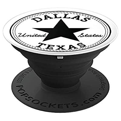 Cool: Dallas Texas United States USA item - PopSockets Grip and Stand for Phones and Tablets