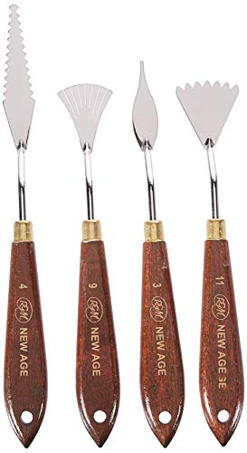 RGM New Age Painting Knife Set, 4 Pieces (RGNASET) by RGM (Image #2)