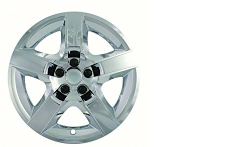 CCI IWC435-17C 17 Inch Bolt On Chrome Finish Hubcaps - Pack of 4 ()