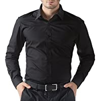 "ZAKOD Full Sleeve Slim Fit Plain Formal Shirt for Men,100% Cotton Shirts,Office wear. Colour and Size Choose According 16 Colour avilable M=38"",L=40"",XL=42"""
