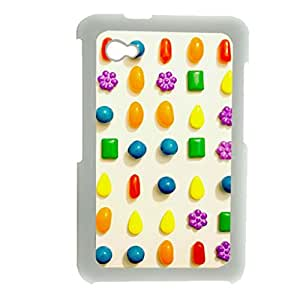 Generic Personalised Phone Cases For Man For Samsung P6200 Table With Candy Crush Saga Choose Design 5