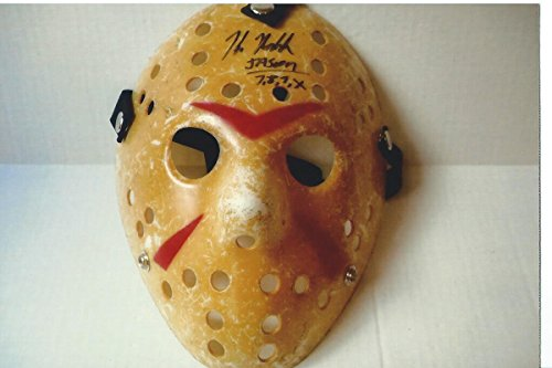 Hockey Mask Signed by Friday the 13th Jason Voorhees Star Kane Hodder