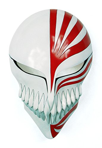 Mtxc Bleach Cosplay Prop Ichigo Kurosaki Hollow Mask Third Stage White