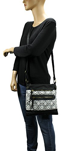 Bag Lace H1908 Black Crossbody Scarleton Xq0TaUwx6