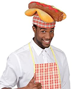Hot dog hat (gorro/ sombrero)