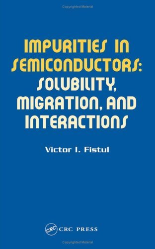 Impurities in Semiconductors: Solubility, Migration, and Interactions: Solubility, Migration and Interactions