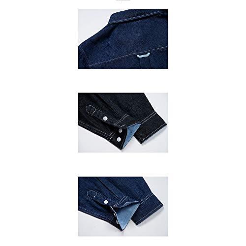 In A Vintage Lunga Blue Tasche Uomo Multi Lavoro Easy Da Camicia Shopping Manica Go Denim x46OnqXzP