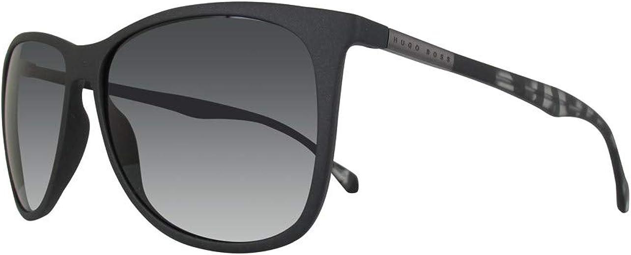 BOSS Hugo 0823/S 6E YV4 gafas de sol, Negro (Black Greyhvn/Grey), 58 Unisex-Adulto