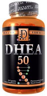 Динамические формулы DHEA 50 фармацевтического класса 50 мг 90 капсул