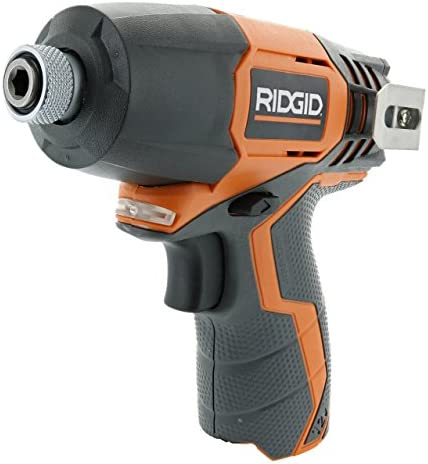 Ridgid R82230N 1 4 Inch 12 Volt Lithium Ion 1,100 In. Lbs. Impact Driver Battery Not Included, Power Tool Only Renewed
