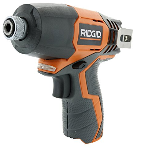 Ridgid R82230N 1/4 Inch 12 Volt Lithium Ion 1,100 In. Lbs. Impact Driver (Battery Not Included, Power Tool Only) (Certified Refurbished) by Ridgid
