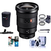 Sony FE 16-35mm f/2.8 GM (G Master) E-Mount NEX Camera Lens - Bundle With 82mm Filter Kit, Lens Case, Cleaning Kit, Capleash II, Lenspen Lens Cleaner, Software Package