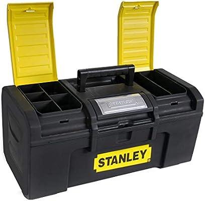 Stanley Caja de Herramientas 19 pulgadas Un toque: Amazon.es: Bricolaje y herramientas