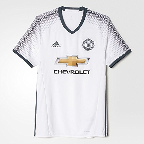 new product 83327 51faa Adidas Men's Manchester United Soccer Jersey 3rd Kit White - Import It All