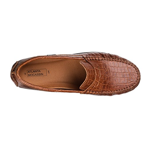 Atlanta Loafer Brown Brown Flats Flats Loafer Atlanta Women's Women's qHEgz
